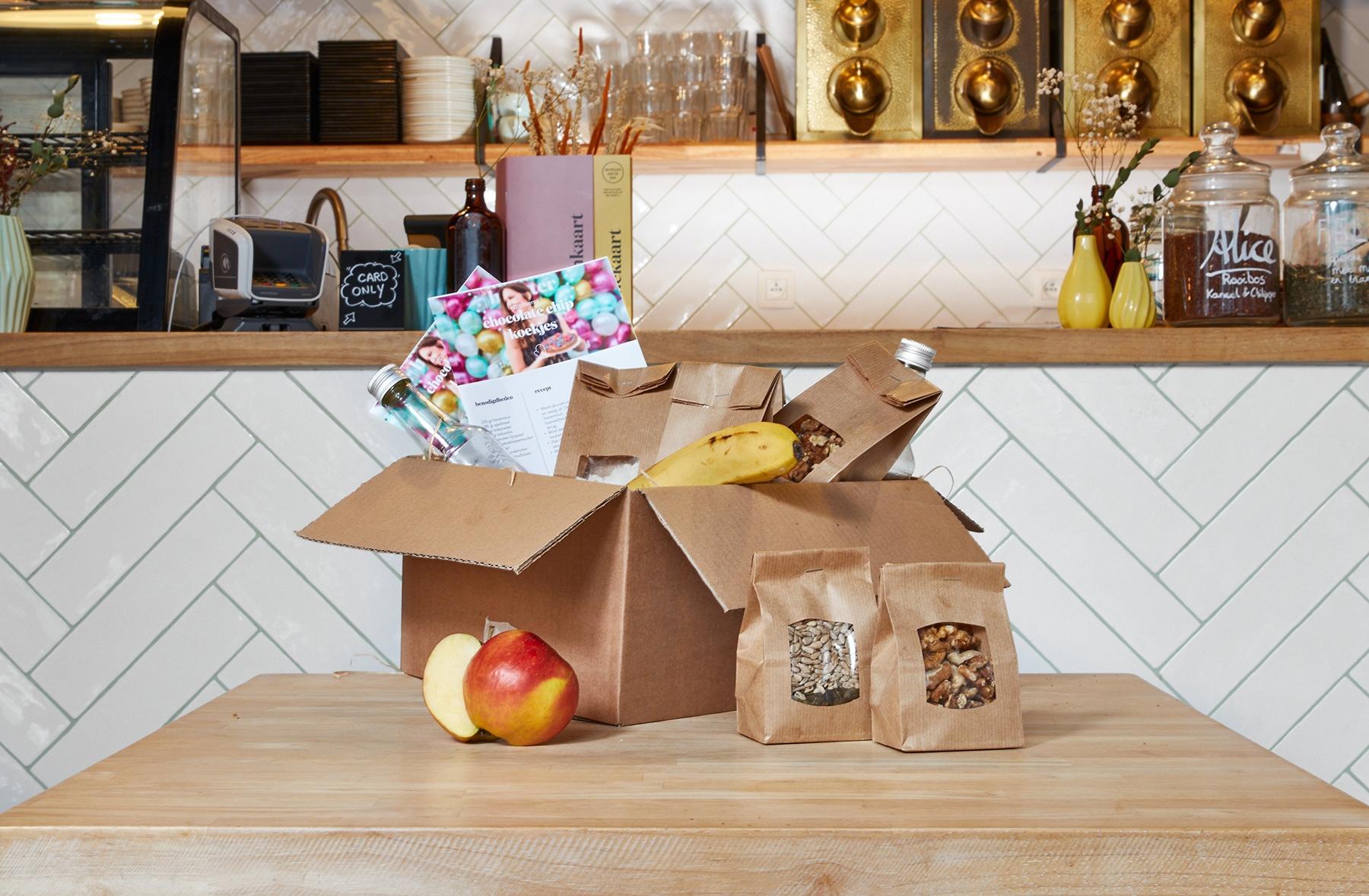 Bak-het-zelf brunchbox ook BPost  - Toevallig wat tijd over Tover zelf de lekkerste brunch op tafel Recepten inbegrepen