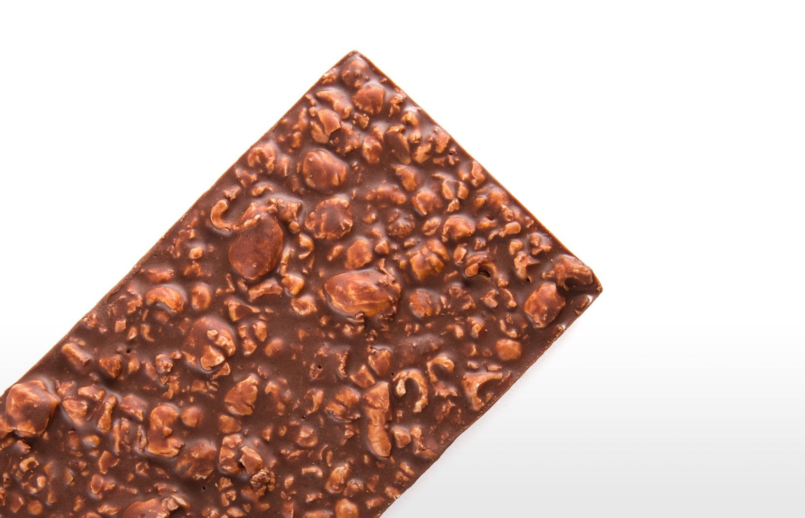 Charles - Kokosmelkchocolade met karamel popcorn
