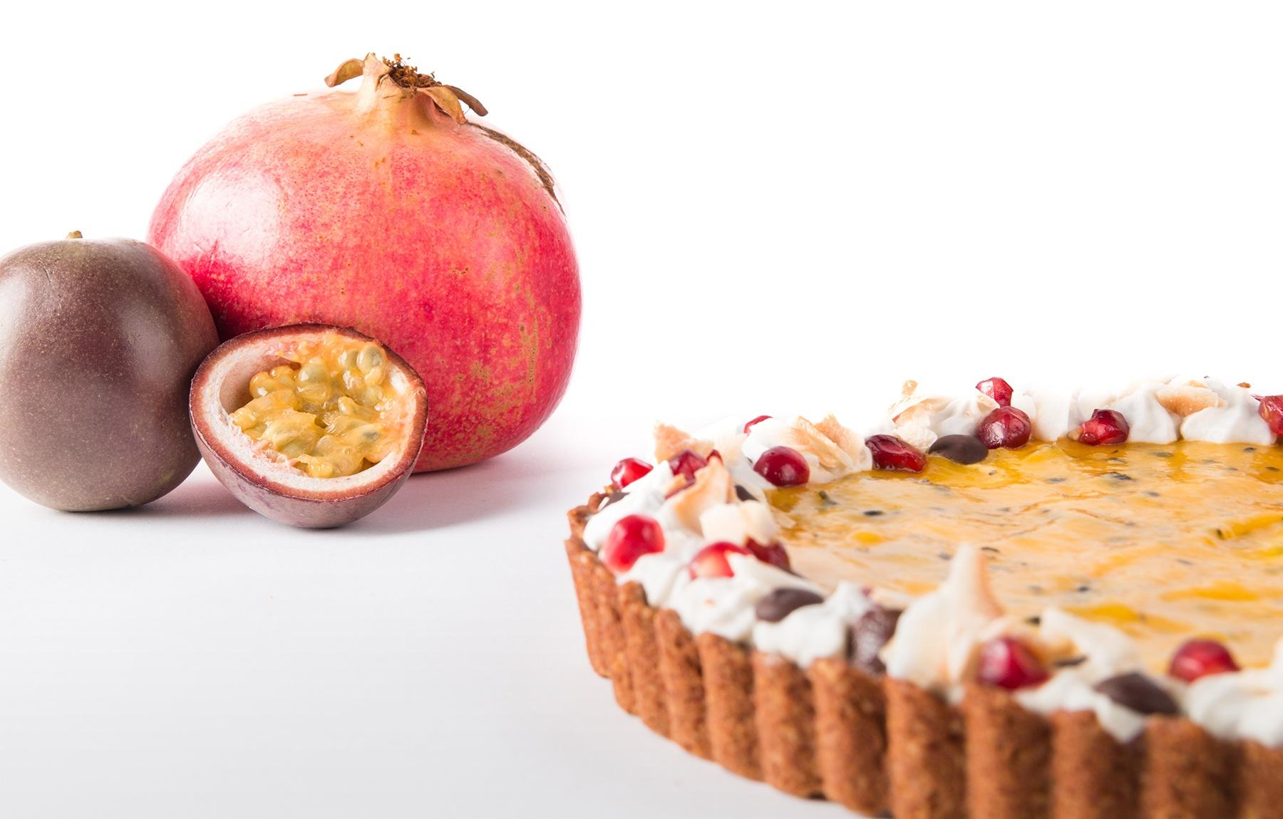 Heidi - Passionele chocolade mango taart