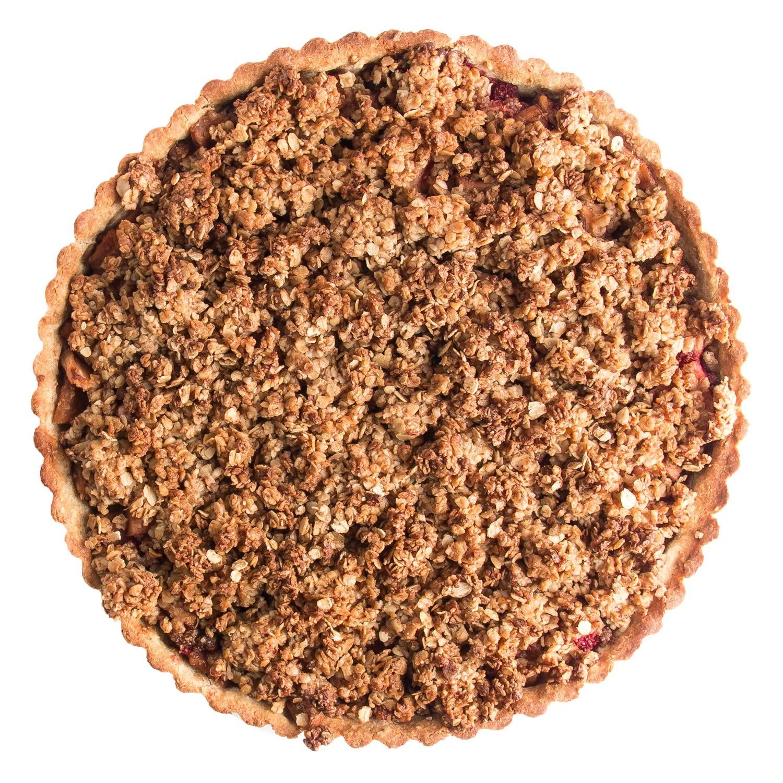 Elodie - Dartele appel crumbletaart