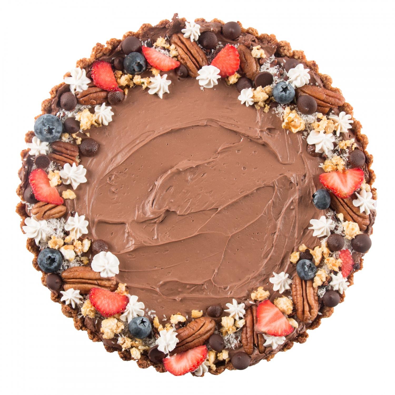 Maurice - Stevige chocolade tofutaart